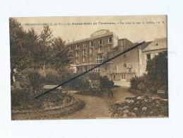 CPA -  Perros Guirec  - Le Grand Hôtel De Trestraou  - Vue Prise Du Parc Et Jardins - Perros-Guirec