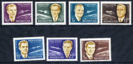 HUNGARY 1962 Space Conference  Set MNH / **.  Michel 1873-79 - Hungary