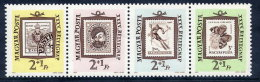 HUNGARY 1962 Stamp Day Strip MNH / **.  Michel 1868-71 - Nuevos