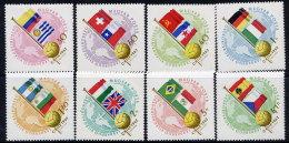 HUNGARY 1962 World Cup Football Set MNH / **.  Michel 1830-37 - Hungary