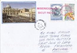VATICAN. Lettre Du Vatican Adressée Andorre, Flamme Misericordes Sicut Pater (Miséricordieux, Comme Son Père) - Cristianesimo