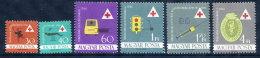 HUNGARY 1961  Health Services Set MNH / **.  Michel 1747-52 - Hungary