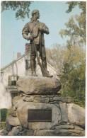 Statue In Honor Of The Green Mountain Boys, Rutland, Vermont, Unused Postcard [17723] - Rutland