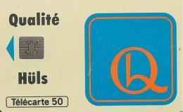 CARTE-PUCE-PRIVEE-PUBLIC- 50U-EN996-SO5-JG-06/94-HULS-FRANCE-Utilisé-BE-V°Petit Maculage D Encre D Origine - 50 Einheiten