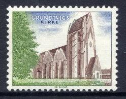 DENMARK 1968. Grundtvig Church Test Stamp MNH/ ** - Proofs & Reprints