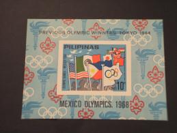 FILIPPINE - BF 1968 OLIMPIADI MEXICO - NUOVO(++) - Filippine