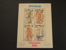 SEYCHELLES - BF 1980 MOSCA - NUOVO(++) - Seychelles (1976-...)