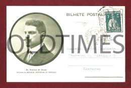 PORTO - SOCIEDADE VEGETARIANA DE PORTUGAL - DR. AMILCAR DE SOUZA - PRESIDENTE - 1910 PC - Porto