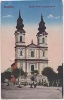 Cpa,SERBIE,SZABADKA,SOBOT ICA,prés  Hongrie,Szent  Teréz Nagytemplom,lipsitz - Serbie
