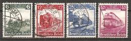 DR 1935 // Michel 580/583 O (3034) - Deutschland