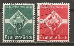 Michel 571/572 O - Gebraucht