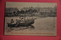 NANTES -  Grande Semaine Maritime (aout 1908)  Régates En Loire - Départ Des Berthon - Nantes