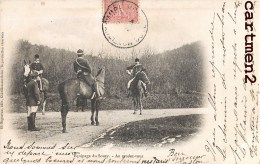 CHASSE A COURRE EQUIPAGE DU SOUZY AU RENDEZ-VOUS HUNT HUNTING - Chasse
