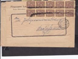 Deutsches Reich Dienstmarke Stempel  Leck (schleswig) 1923 - Allemagne