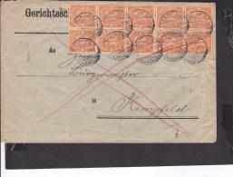 Deutsches Reich Dienstmarke Stempel  Rhaunen 1922  MEF - Covers