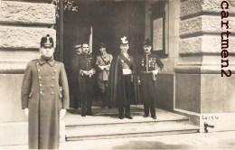 CARTE PHOTO : BERN AMBASSADEUR Mr ALLIZE PRESENTATION DES LETTRES DE CREANCE AOUT 1920 DIPLOMATE POLITIQUE SUISSE GUERRE - Personnages