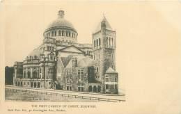 BOSTON - The First Church Of Christ, Scientist - Boston