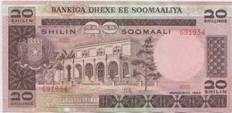 SOMALIA P. 27 20 S 1980 AUNC - Somalia