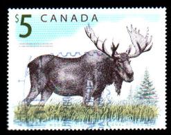 Canada Moose, Postally Used - Francobolli