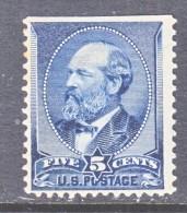 U.S. 216  * - Unused Stamps