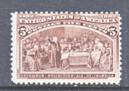 U.S. 234    **    COLUMBUS - Unused Stamps