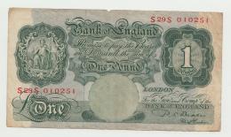 Great Britain England 1 Pound 1949 - 1955 AVF Pick 369b  369 B - …-1952 : Voor Elizabeth II
