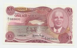Malawi 1 Kwacha 1986 UNC NEUF Pick 19a  19a - Malawi