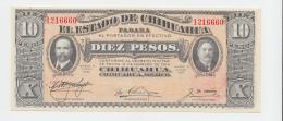 Mexico 10 Pesos 1914 UNC NEUF - Messico
