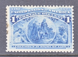 U.S. 230   Fault   **  COLUMBUS - 1847-99 General Issues