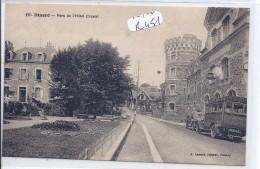 DINARD- PARC ET TAXI  DE L HOTEL CHRYSTAL - Dinard