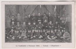 CAMBRAI 59 NORD - COLONIE L ESPERANCE, LE CAMBRAISIS A CLEMONT EN 1924 - VOIR LES SCANNERS - Cambrai