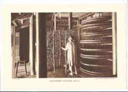 INDOCHINE Magnanerie Indigène Planche Neuve. Dos Vierge TB 290 X 200 Mm - Vecchi Documenti