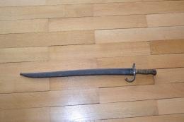 Rare Baionette Chassepot De Prise Allemande - Knives/Swords