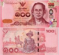 THAILAND       100 Baht       P-New       ND (2015)       UNC  [ Sign. 85 ] - Thailand