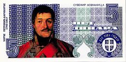 RARE SERBIE Commémoration 80 Anniversaire Assassinat Alexandre I  5 Dinars   Đorđe Petrović, Dit Kara&#27 - Serbie