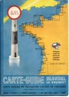 35 - CANCALE - St CAST - St MALO - CARTE MARITIME De NAVIGATION COTIERE - CARTE GUIDE - BLONDEL - N° 535 - Nautical Charts