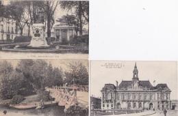 16 / 5 / 428  - 10  CPA  DE  TOURS  - Toutes Scanées - Cartes Postales