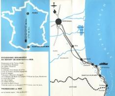 Dépliant Touristique Banyuls Sur Mer - 3 Volets - Plan - Dépliants Turistici