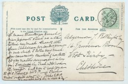 Single Circle - Tattenhall  (Cheshire) - On Hunting PC - Postmark Collection
