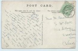Single Circle - Normanton On PC Of Monk Fryston Park - Postmark Collection