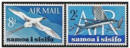 Samoa: Uccello, Pesce, Oiseau, Poisson, Bird, Fish - Stamps