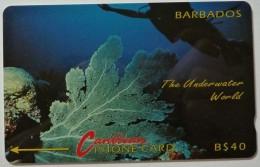 BARBADOS - GPT - Underwater World - 5CBDC - BAR-5C - Used - Barbados