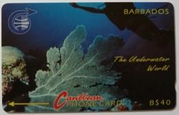 BARBADOS - GPT - Underwater World - 3CBDC - BAR-3C - Used