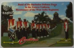BARBADOS - GPT - Defense Force Band - 88CBDA - BAR-88A - Used - Barbades