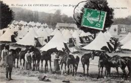 LA COURTINE - 2eme Brigade à Cheval - Juillet 1909 - La Courtine