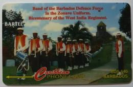 BARBADOS - GPT - Defense Force Band - 216CBDA - BAR-216A - Used - Barbades