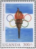 Restoration Of Olympic Games 1896, Flame / Torch, Sport, Games MNH Uganda