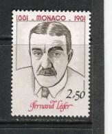 MONACO - Y&T N° 1292** - Fernand Léger - Neufs
