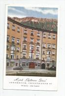 Cp , Hôtel & Restaurants , Hotel GOLDENER STERN , INNSBRUCK , Vierge - Hotels & Restaurants