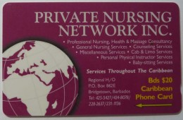 BARBADOS - GPT - Private Nursing Network - 263CBDA - BAR-263A- Used